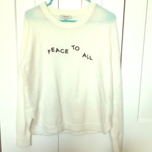 Madewell graphic sweater